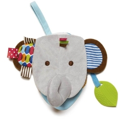Książeczka-pacynka bandana buddies słoń