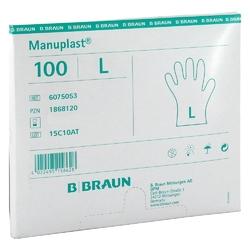 Manuplast einmal handschuhe gross, hell