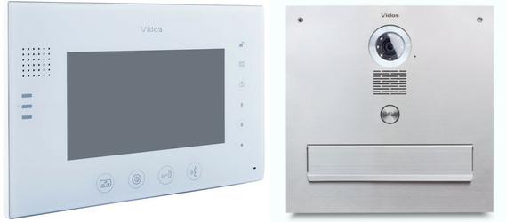 Skrzynka na listy Vidos z monitorem M670W-S2S551-SKM - Szybka dostawa lub możliwość odbioru w 39 miastach