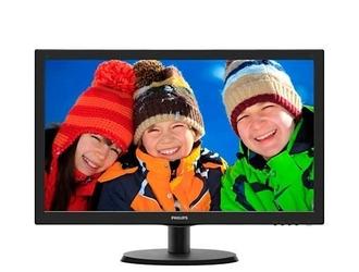 Philips monitor 21.5 223v5lhsb led hdmi czarny