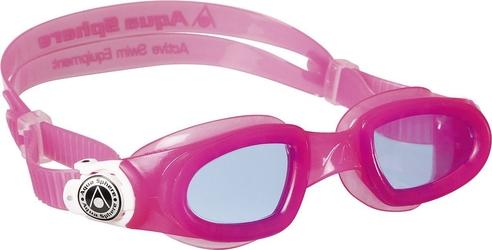 Aquasphere okulary do pływania moby kid ciemne szkła pink white