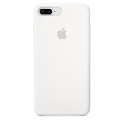 Apple iphone 8 plus  7 plus silicone case - white