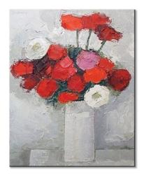 Reds and whites - obraz na płótnie