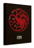 Game of Thrones Targaryen - Obraz na płótnie