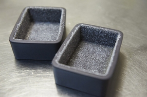 Maselniczka czarna porcelana solid  likid revol rv-645825-6
