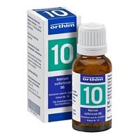 Biochemie globuli 10 natrium sulfuricum d 6