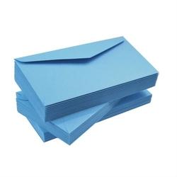 Koperta ozdobna dl 120g - błękitna - błękitny