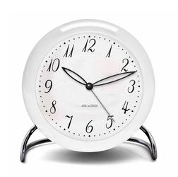Zegar stołowy Arne Jacobsen LK biały