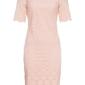 Sukienka ołówkowa koronkowa bonprix bladoróżowy