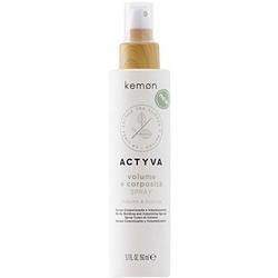 Kemon actyva volume e corposita, fluid w sprayu pogrubiający włosy 150ml