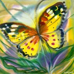 Naklejka samoprzylepna motyl