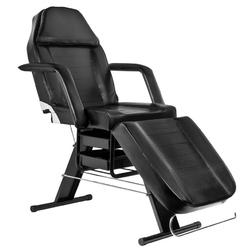 Fotel kosmetyczny a 202 z kuwetami czarny