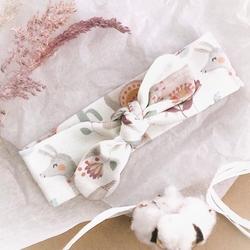 Opaska niemowlęca llamas, colorstories