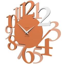 Zegar ścienny russell calleadesign terakota 10-020-24