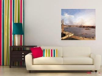 tamiza i londyn z hotelu richmond  canaletto giovanni antonio canal ; obraz - reprodukcja