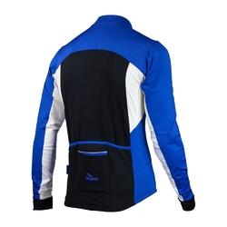 Koszulka długi rękaw rogelli recco 2.0 niebieska