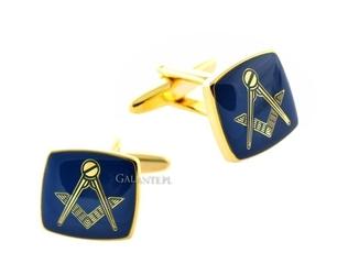 Spinki do mankietów mason blue sd-2826
