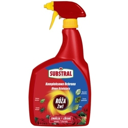 Kompleksowa ochrona spray – róża 2w1 – 800 ml substral