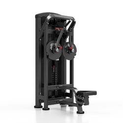 Maszyna na przywodzenie ramion mp-u236 - marbo sport - antracyt metalic  czarny