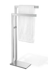 Wieszak na ręczniki stojący Linea matowy