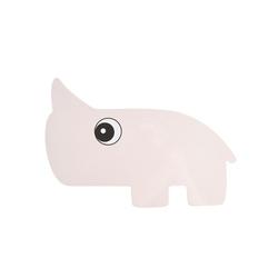 Tacka na przekąski - różowy nosorożec