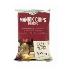 El puente | egzotyczne chipsy z manioku barbecue 30 g | fair trade