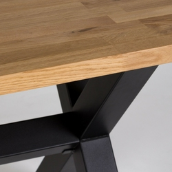 Stół do jadalni indot 150x90 dąb