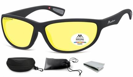Rozjaśniające okulary do jazdy nocą dla kierowców z polaryzacją montana sp312f