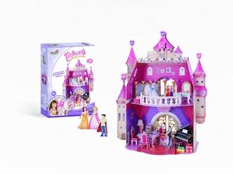 Puzzle 3D urodziny księżniczki - Princess Birthday Party