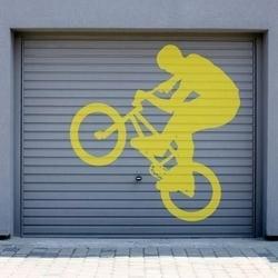 Szablon malarski rower 002