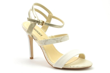 Sandały monnari but0290-m00 biały