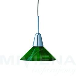 Martello lampa wisząca chrom zielony