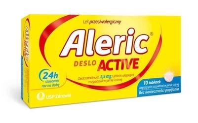 Aleric deslo active 2,5mg x 10 tabletek - 2,5 mg
