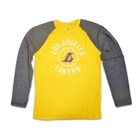 Koszulka młodzieżowa nba boys fadeaway raglan la lakers - ek2b7ba9a-lak - la lakers