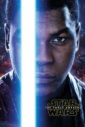 Gwiezdne Wojny VII Przebudzenie Mocy Finn Teaser - plakat