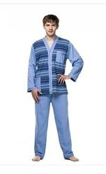 Piżama męska kuba dżentelmen rozpinana nadwymiar 6xl- 8xl