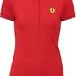 Koszulka polo damska scuderia ferrari czerwona - czerwony