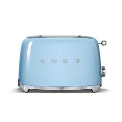 Smeg - toster na 2 kromki - pastelowy błękit - błękitny