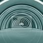 Fototapeta futurystyczne wnętrze