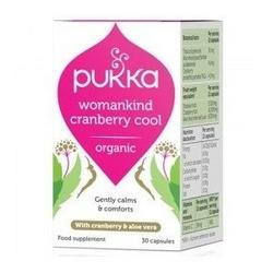 Womankind cranberry cool bio 30 kapsułek pukka
