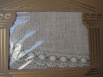 Obrus teflonowany greno lniany prostokąt 150 x 250