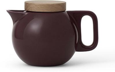 Dzbanek do zaparzania herbaty amelia bordowy