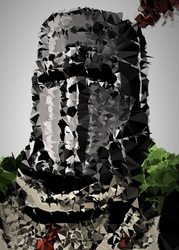 Polyamory - solaire, dark souls - plakat wymiar do wyboru: 61x91,5 cm
