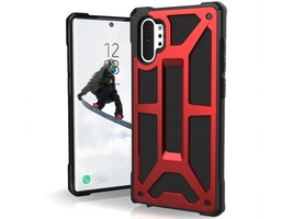 Etui uag urban armor gear monarch do galaxy note 10 plus crimson red - czerwony