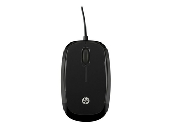 HP Mysz X1200 Wired Black Mouse