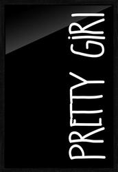 Pretty girl - plakat