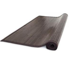 Mata bambusowa , dywanik bambusowy 180 x 270 cm, ciemnobrązowy