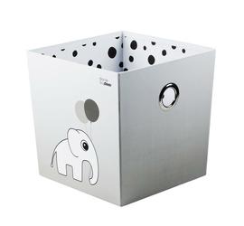 Pudełko do przechowywania Done by deer Dots szare