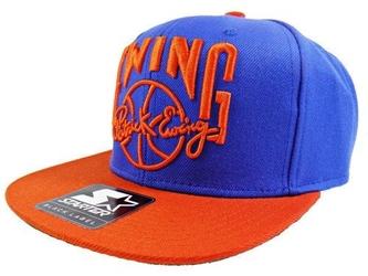 Czapka nba starter patrick ewing snapback new york knicks royal blue