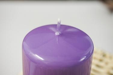 Adpal świeca klasyczna klubowa 9 cm lakier wrzosowe łąki